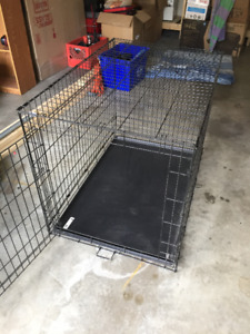 Large dog cage     Essentials     43 L X28.5 WX30.25 H