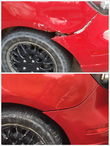 Bumper/body repair within 3hrs at your place