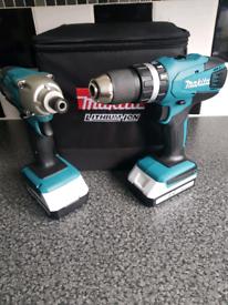 Makita impact driver and drill 18 volt