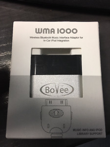 BoVee Bluetooth WMA1000 Brand New in sealed Package!