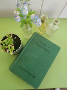 Anne of Green Gables Hardcover Book - published 1937