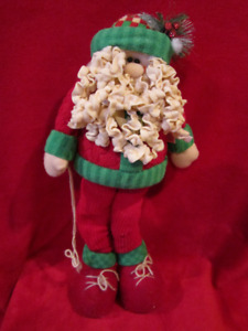 Santa Clause -- 23 inches tall -- Extremely Soft!! Christmas dec