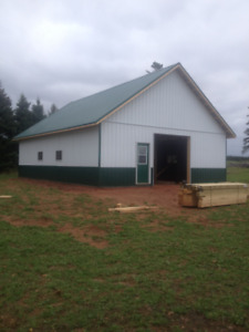 ** New Horse Barns/Run-Ins/Pole Barns/Arenas Built **