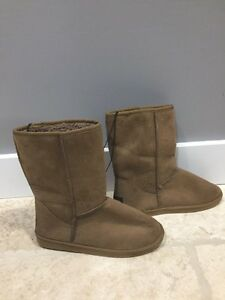 Three pairs of size 10 ladies boots