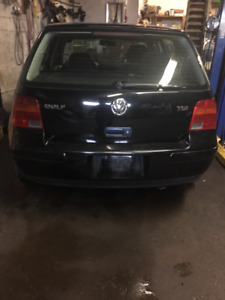 2003 Volkswagen Golf GLS Sedan
