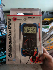 Battery chargers and multi meter