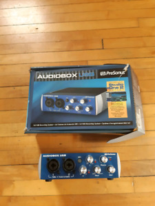Presonus Audiobox Interface