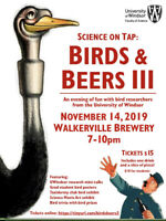 Science on Tap: Birds and Beers lll