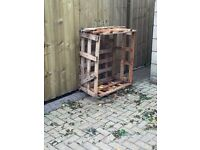 FREE wooden crate