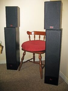2 +2 TOWER SPEAKERS - by PROFILE