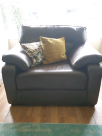 2 Piece Sofa + Foot Pouffe
