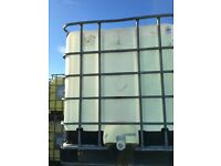 IBC'S /1000 litre containers