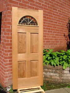 NEW CEDAR FRONT & TWO FRENCH DOORS ! NEW & USED