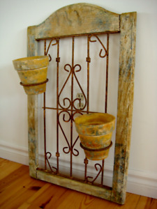 Rustic Mexican Arch Wall Planter / Decor