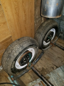 3500lb trailer axles