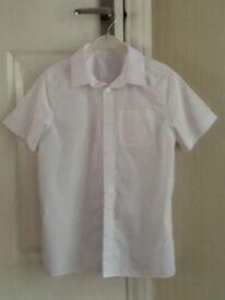 Boys school shirts x5
