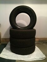 LIKE NEW (90%) 235 65 R17 Goodyear Nordic Winter Tires
