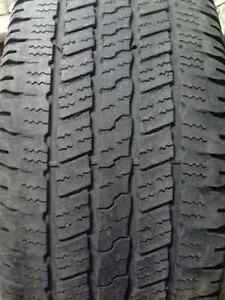 P275/60R20 GOODYEAR WRANGLER SR-A have three