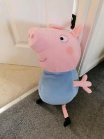 Talking George pig