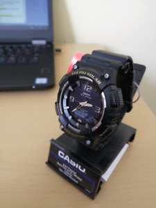 New Casio Tough Solar Dual Time World Time
