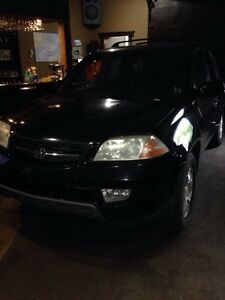 2001 Acura MDX  needs brake work and other work