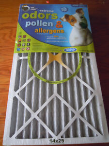 """Air Cleaning Furnace Filters """"Best Air"""" Set of 2 for $ 8.00 –New"""