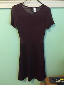 Maroon H&M dress