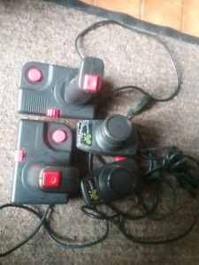 Atari joysticks and padles