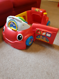 Fisher price Sit in stationary car.