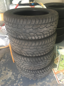 4 WINTER TIRES CACHLAND 225/55 R17 FOR SALE