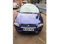 2004 FIAT STILO 1.9 JTD 5 DOOR ESTATE BLUE DIESEL MANUAL