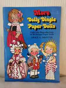 Dolly Dingle Paper Dolly circa 1978 (Lot of 2) London Ontario image 3
