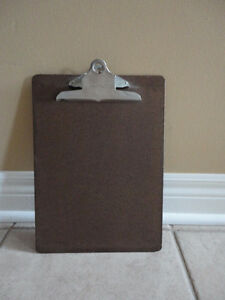 Heavy duty wooden clipboard writing pad London Ontario image 2