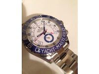 Rolex Yachtmaster II with ceramic bezel and all boxes