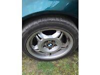 Bmw e36 Motorsport wheels