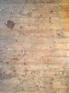 Plancher de Bois Vintage - Reclaimed Wood Floor