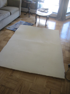 Foam  1 inch thick  x  55 inches width x 75 inches length