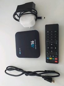 M16 4k ultra HD android tv box