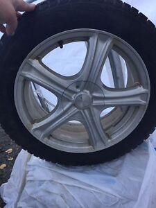 Mags Volks 17 pouces aved pneus Nokian