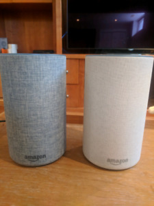 Amazon echo 2nd gen. Two for the price of One!
