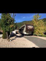 Sierra 355re luxury 41 foot 5th wheel rv camper