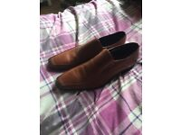 Brown dress shoes size 13