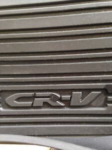 Lightly Used HONDA crv FRONT and BACK floor MATS....by Honda