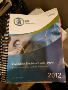2012 Canadian Electrical Code
