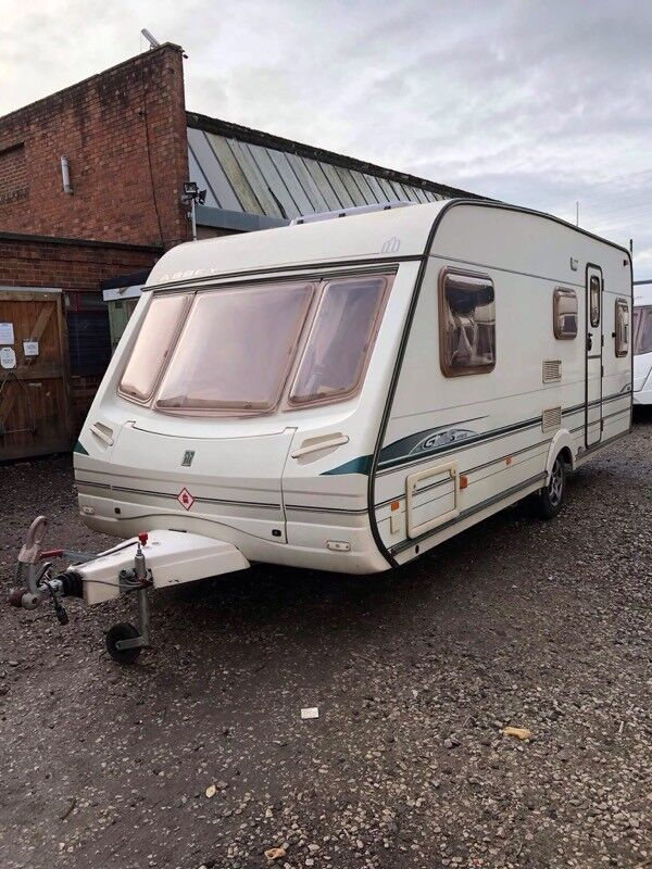 Abbey 418 2003 4 berth fixed bed