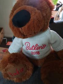 Butlins 2018 teddy