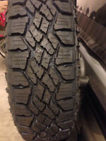Goodyear Duratrac 275 55 R20 set of 4 (Tires Only) 1100 OBO