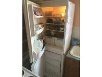 Integrated larder fridge /freezer 50/50