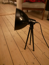 Retro Tripod Lamp