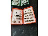 For sale Flie reel and flies